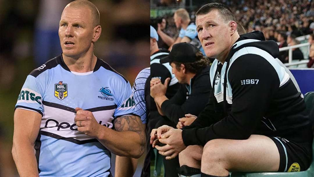 LISTEN | Luke Lewis And Paul Gallen Injury Updates After Sharks Semi-Final Win Over Penrith