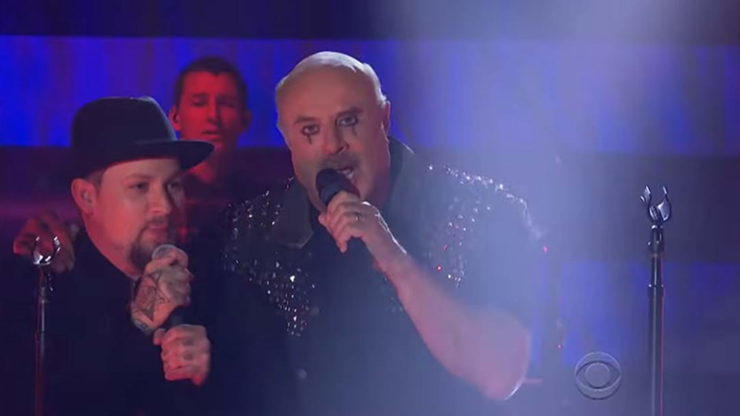 Dr Phil Performed With Good Charlotte Wearing Eyeliner And Leather For Some Reason
