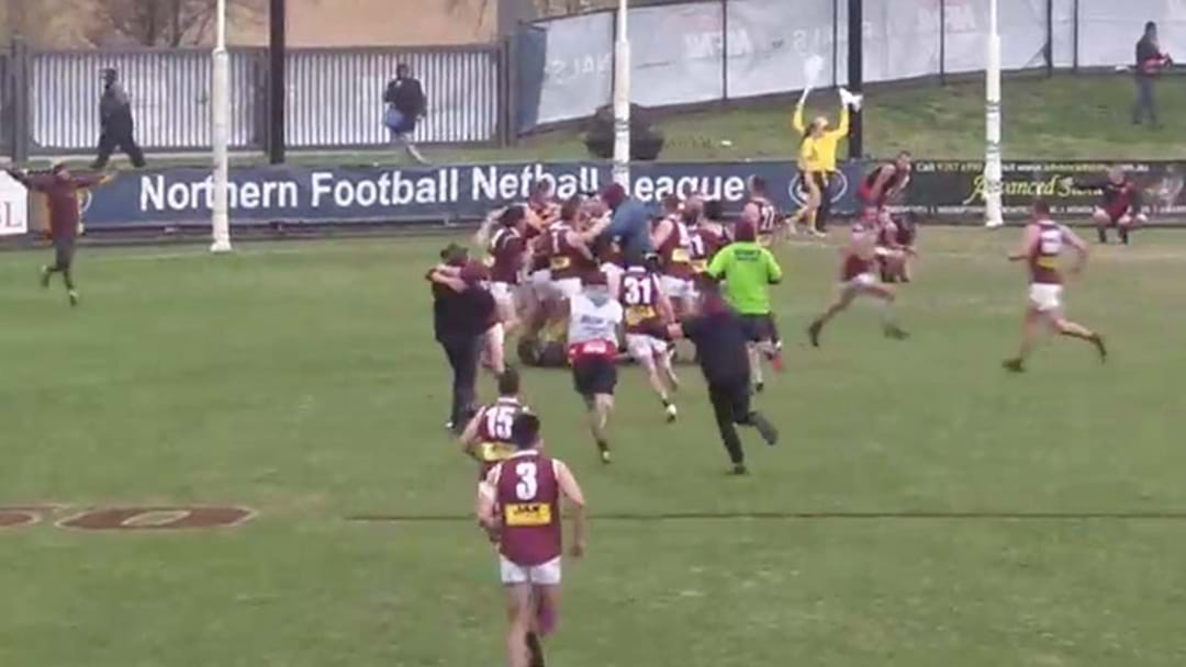 A Local Footy Side Pulled Off An Epic Grand Final Win After Going Goalless Until Three Quarter Time
