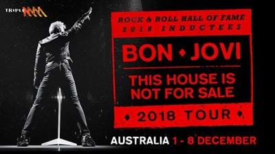 Win VIP Tickets To See Bon Jovi From The Front Row