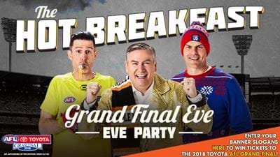 Win Tickets To The Grand Final Eve Eve Hot Breakfast