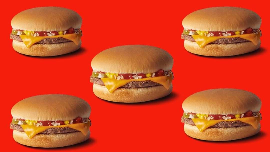 Macca's Is Giving Away 200,000 Free Burgers Today