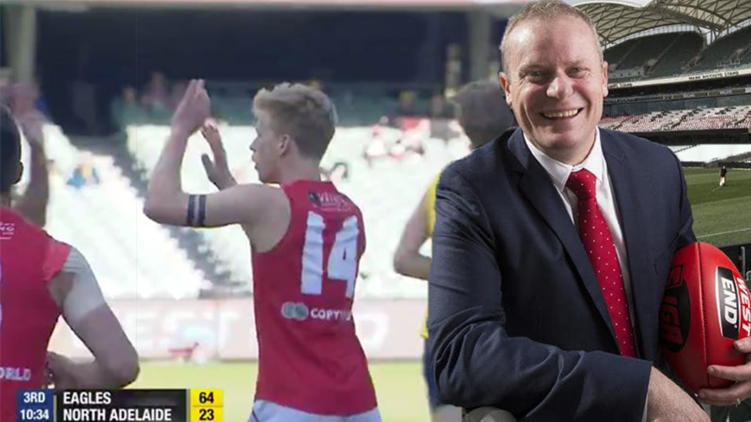 LISTEN: SANFL CEO Jake Parkinson Explains How North Adelaide Are Still Allowed To Complete In Grand Final