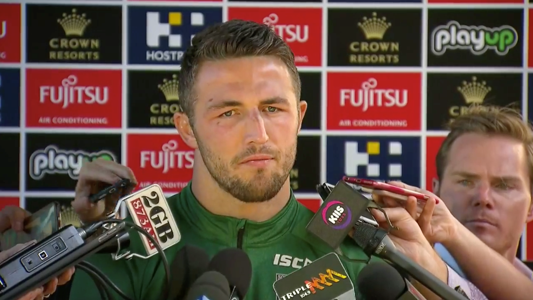 """I'm Happy For Them To Get The Truth"": Sam Burgess Fronts The Media Over Improper Conduct Allegations"