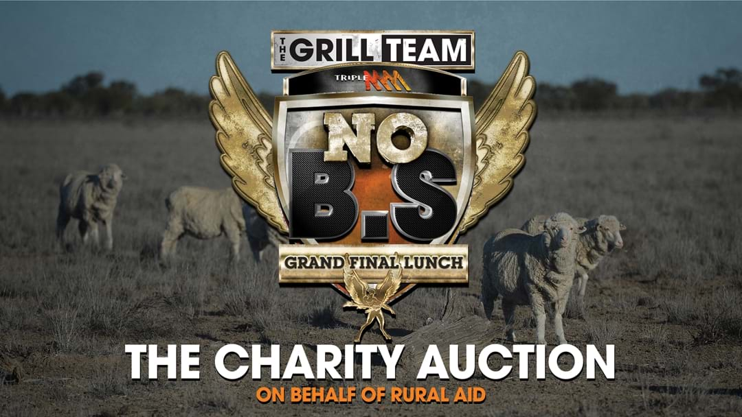 For The First Time EVER, You Can BUY Tickets To The Triple M Grill Team's No BS Grand Final Lunch
