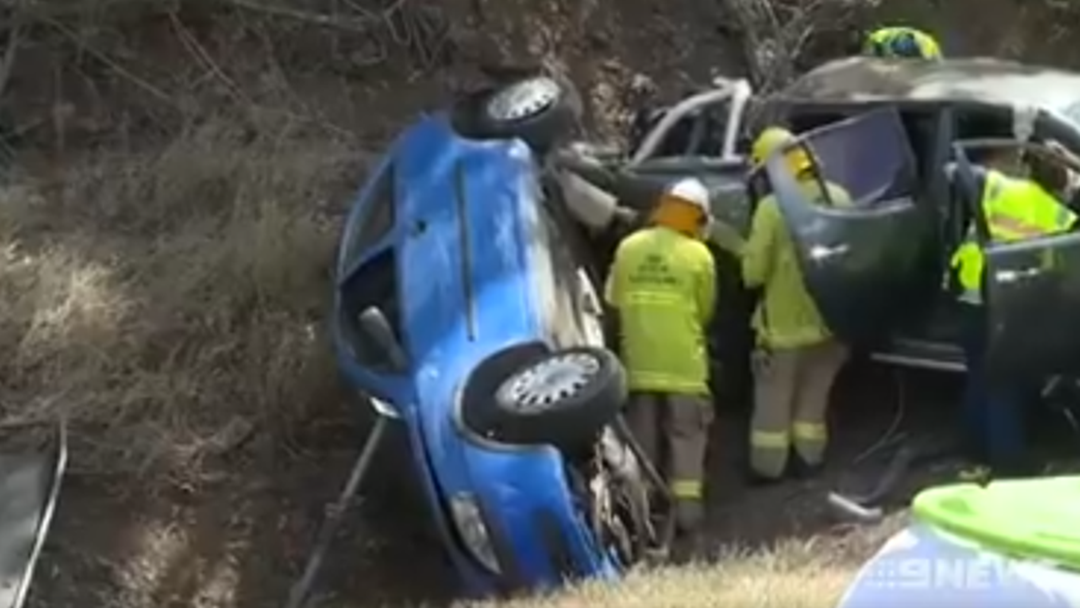 Five People Lucky to Be Alive After Crash on Toowoomba Range