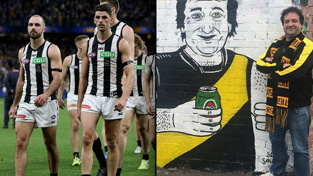 Mick Molloy Absolutely Gives It To Collingwood Ahead Of Their Prelim Final