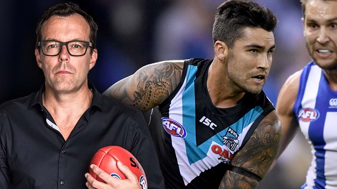 "Damian Barrett Names One Club ""Very Quietly Going About"" Trying To Secure Chad Wingard"