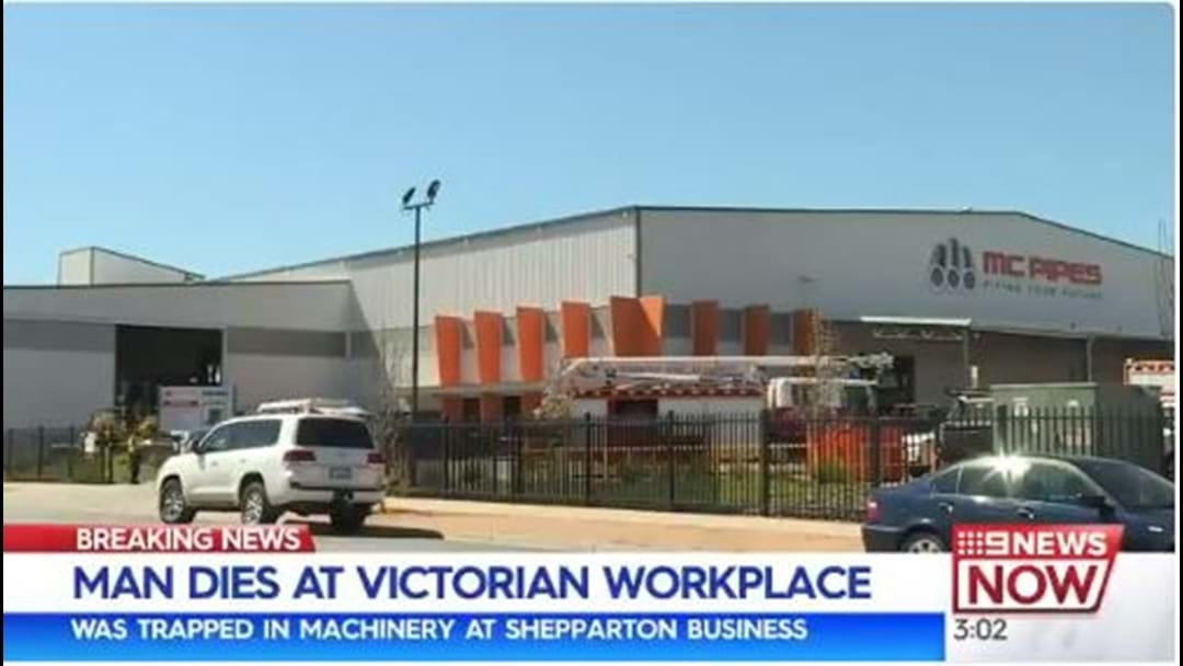 Man Dies At Shepparton Workplace