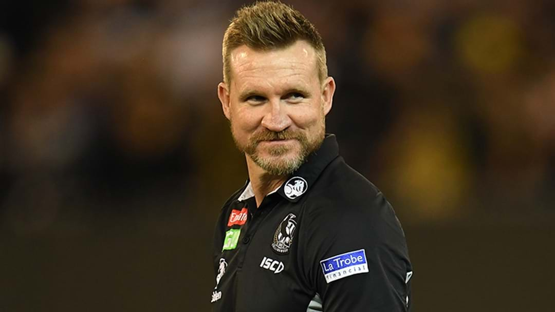 Tom Browne Says That Nathan Buckley Will Formalise A New Contract With Collingwood Soon