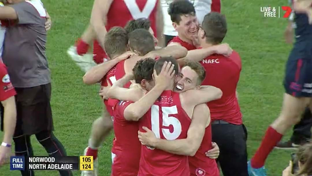 The Team Caught With 19 On The Field Last Week Won The SANFL Grand Final