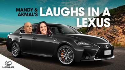 Win a Weekend Away in a Lexus!