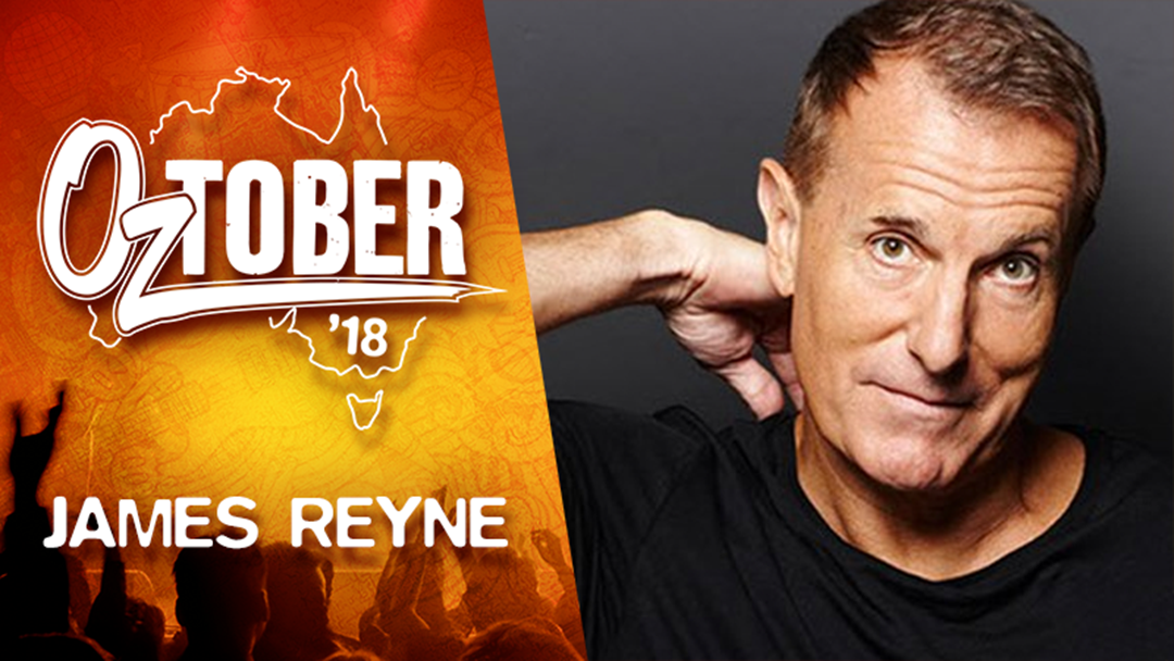 James Reyne Showed Up To 'Countdown' With Two Broken Wrists