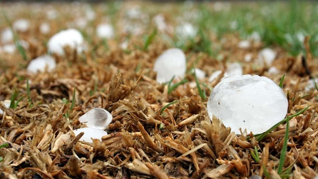 More Hail On The Way For The Gold Coast