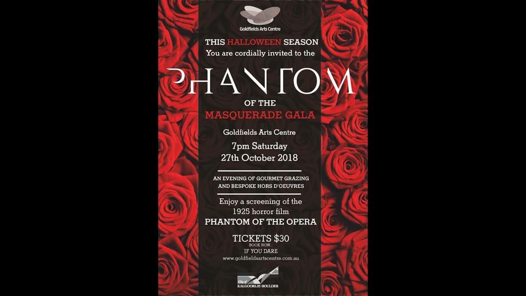 The Phantom is here......