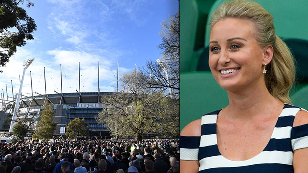 Jane Bunn's Latest Update On The Weather For The Grand Final