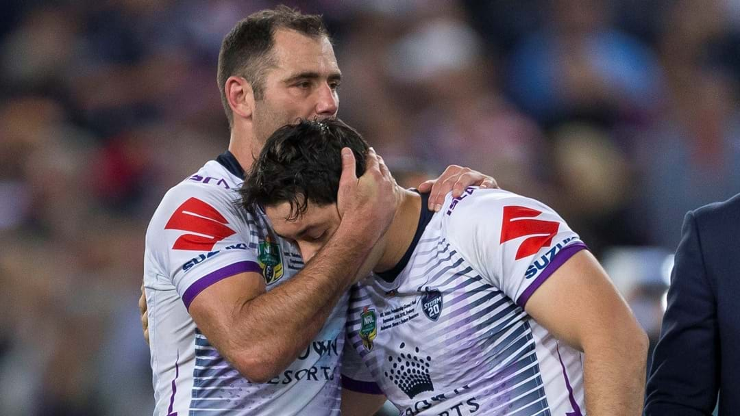 Cameron Smith Gives An Update On Contract Situation Following Grand Final Loss