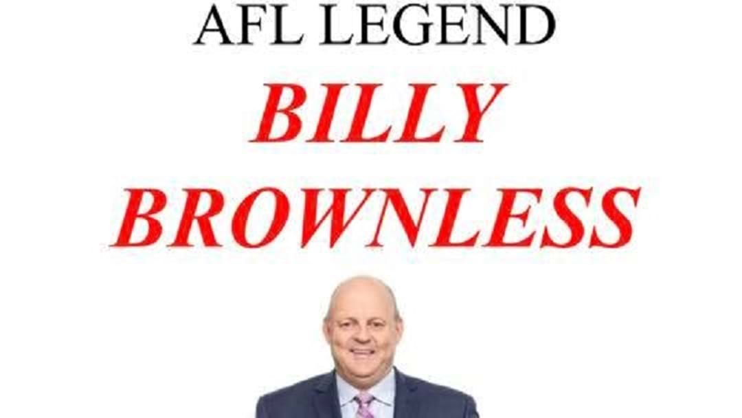 Billy Brownless is coming to Esperance!