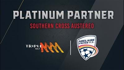 Triple M Proudly Supports Adelaide United!