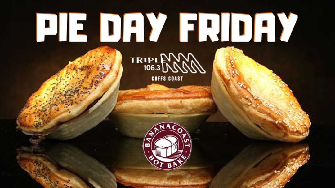 Triple M's Pie Day Friday!