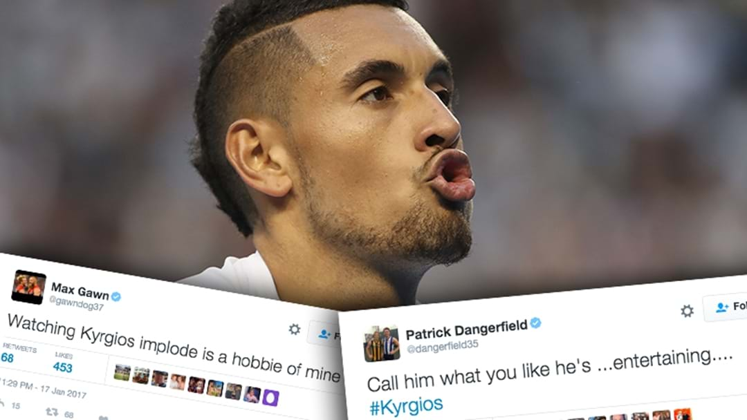 AFL Players React To Nick Kyrgios' Meltdown