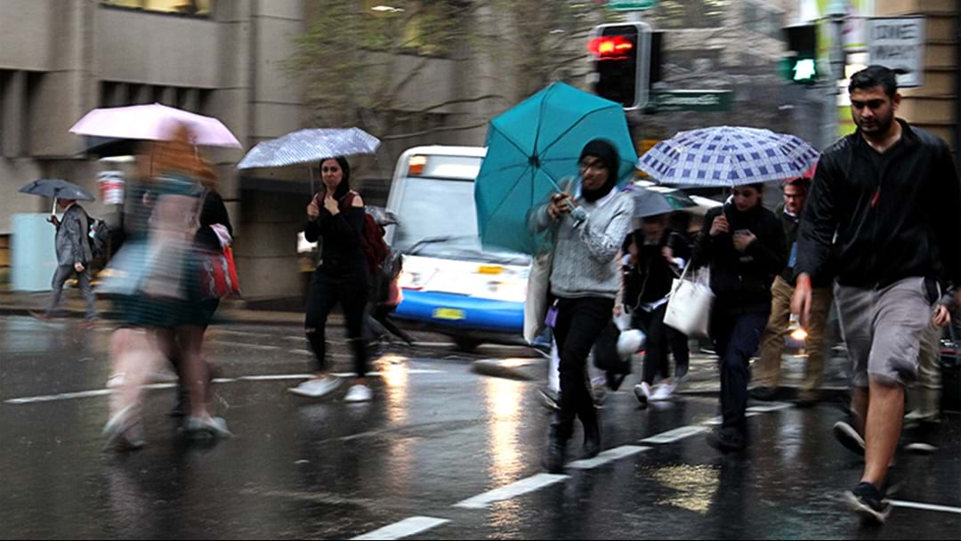 Sydney's About To Be Slammed With A Month's Worth Of Rain In The Next Three Days