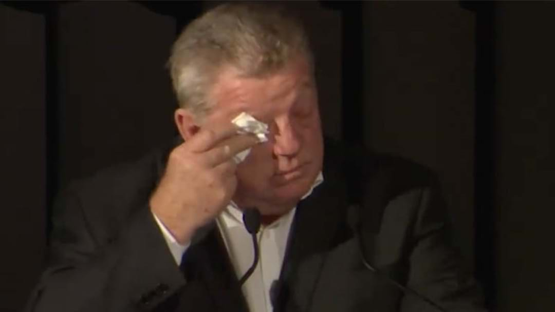 Phil Gould Reduced To Tears In Heartfelt Speech To Departing Panthers Duo