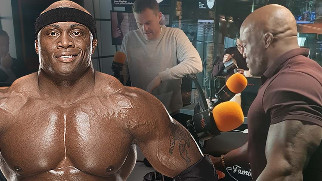 Bobby Lashley's Incredible Story About How His Shot At The Olympics Came To An Abrupt End