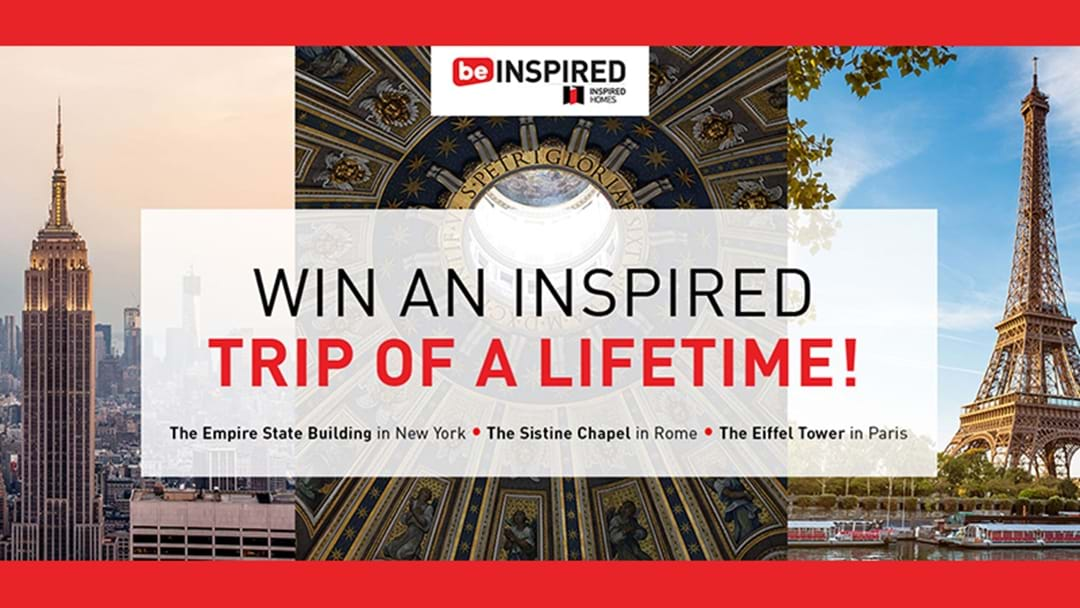 Win an inspired trip of a lifetime