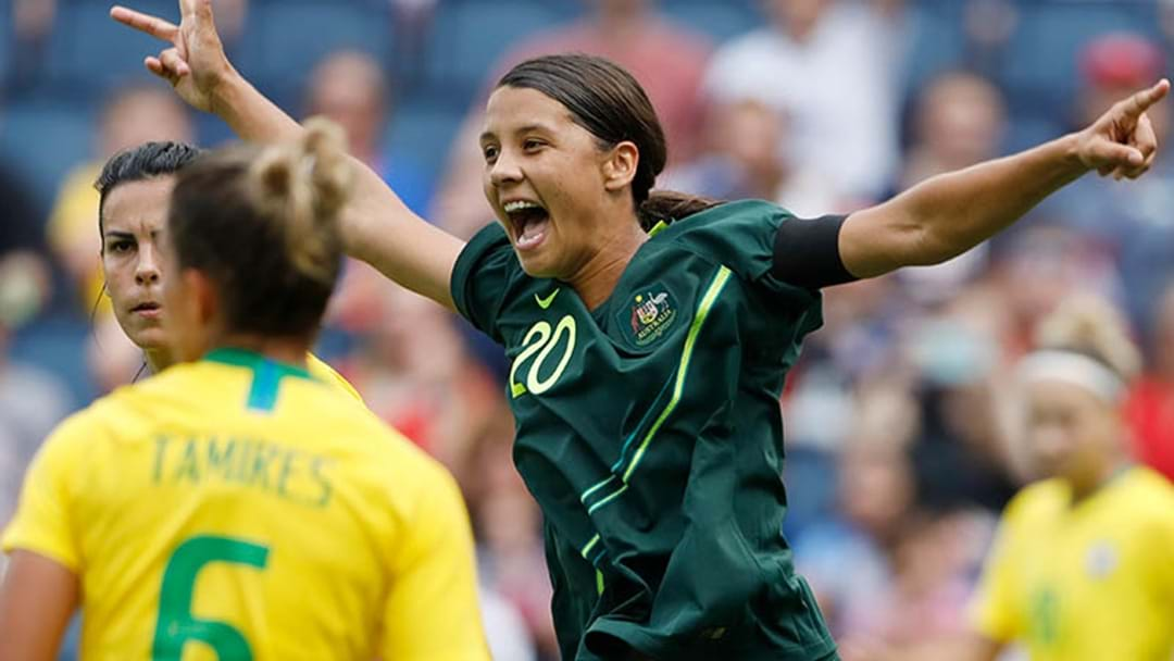 Sam Kerr's Special Foxtel Perk That Only A Select Few In The World Have Access To