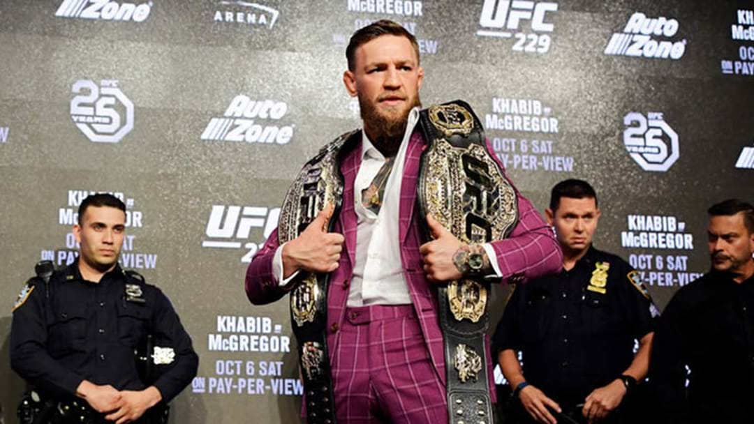 Conor McGregor's Salary For UFC 229 Has Been Revealed
