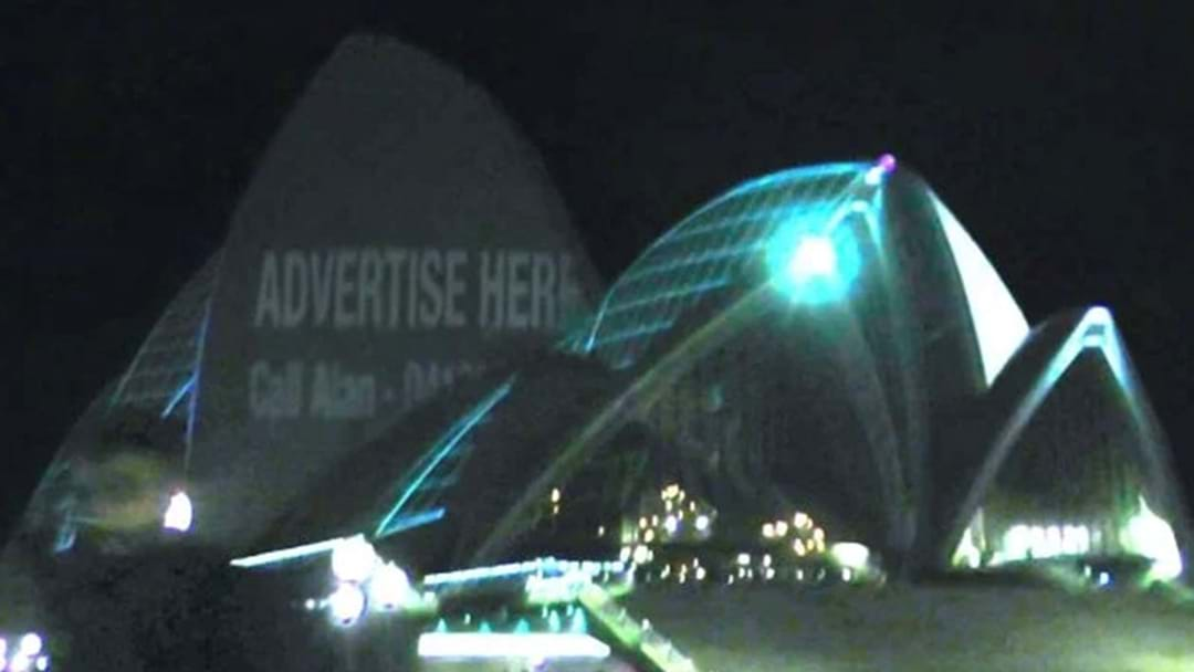 The Chaser Projected Alan Jones's Phone Number On The Sydney Opera House Last Night