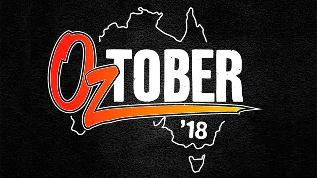 Win Your Way to Triple M's OzTober Garage Session