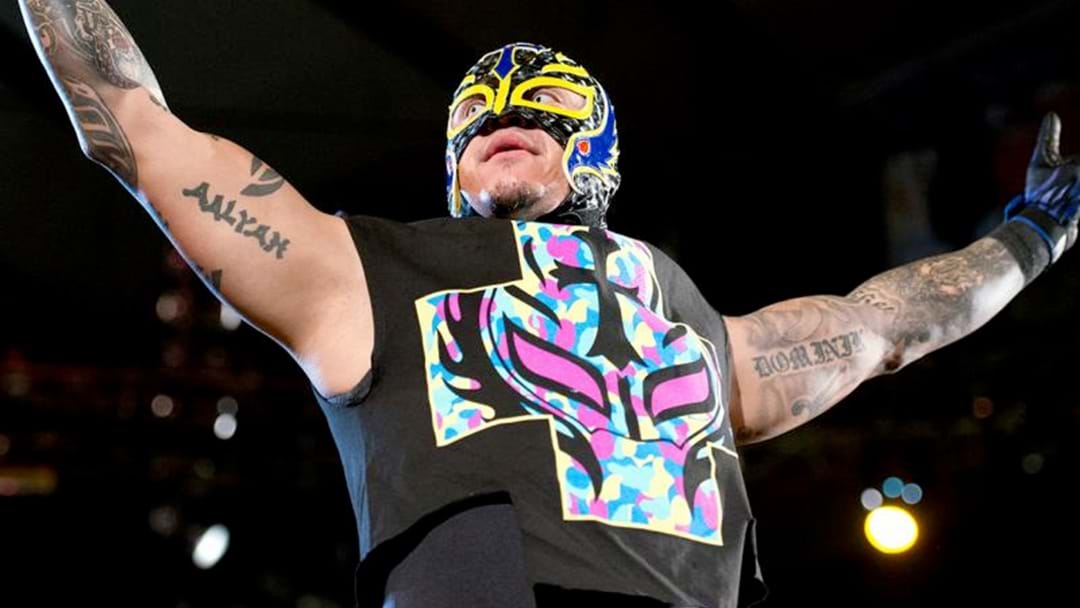 Rey Mysterio Has Returned To WWE