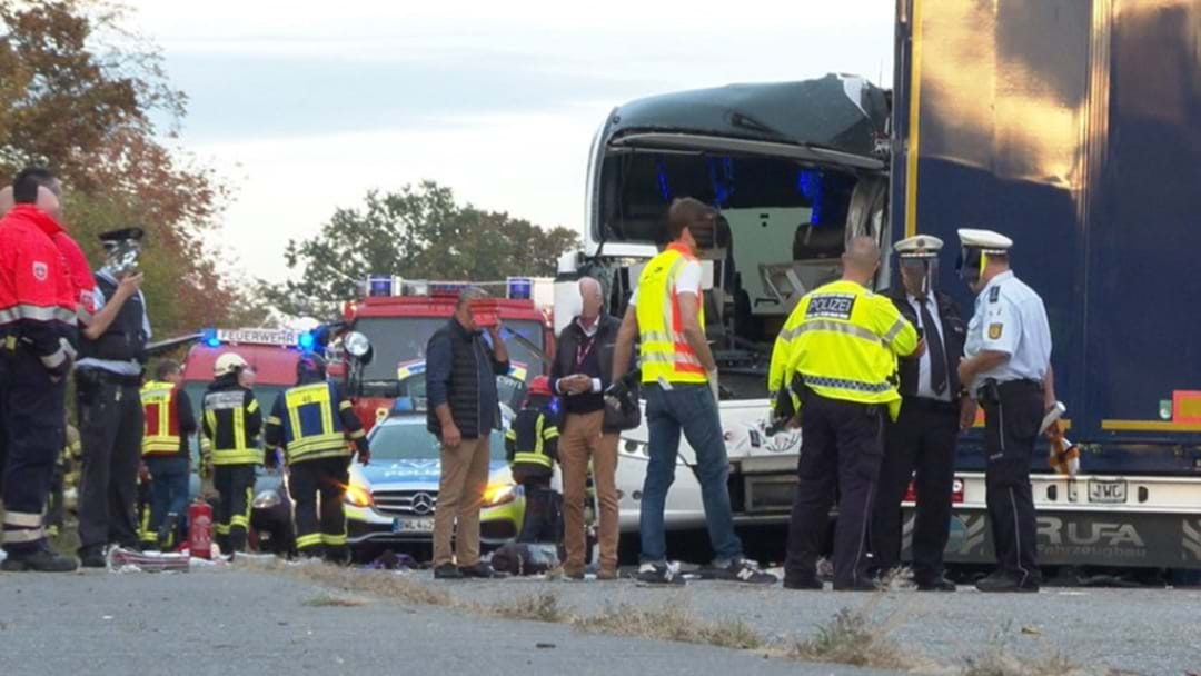Fears Aussies Injured In German Bus Crash