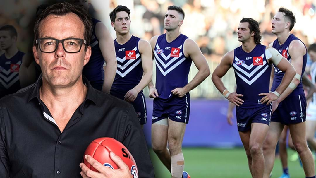 "Damian Barrett: Rival Clubs Are ""Getting Really Frustrated"" With Fremantle"