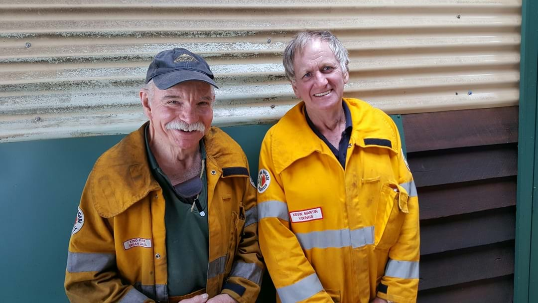 Well done to our volunteer firies