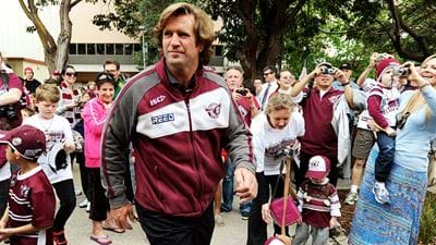 "Des Hasler ""Weighing Up Pros & Cons"" Of Manly Return"