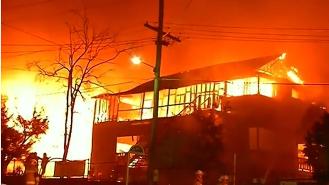 Suss Fire Guts A Quarter Of Heritage Listed Morningside State School
