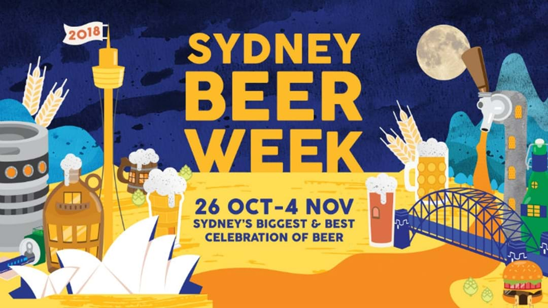 Sydney Beer Week To Host 2018 Beer Olympics With Exclusive Froths
