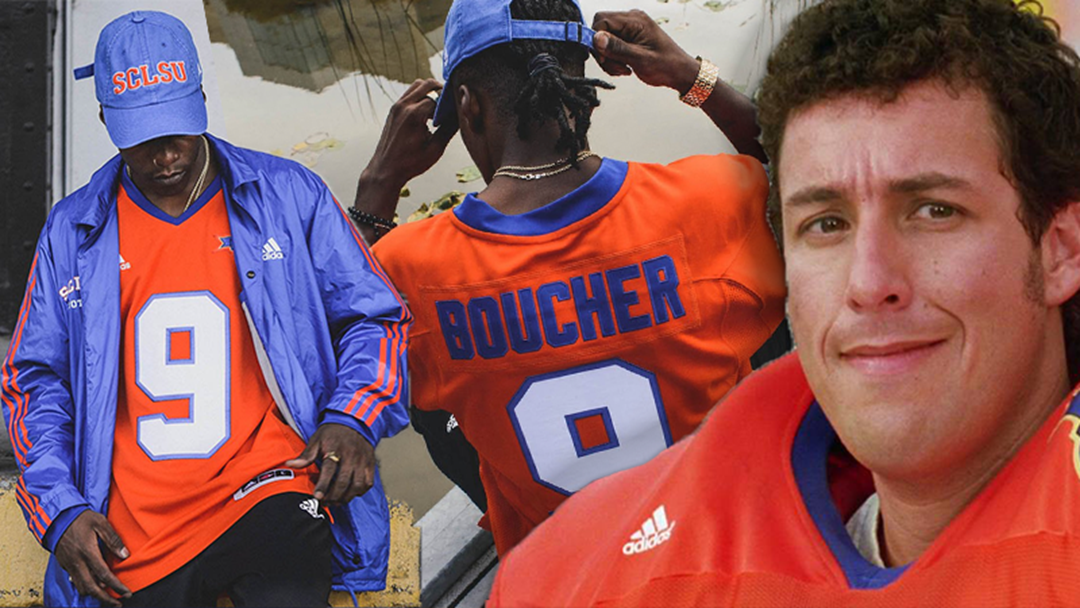 Adidas Is Releasing 'Waterboy' Merchandise To Celebrate The Films 20th Anniversary