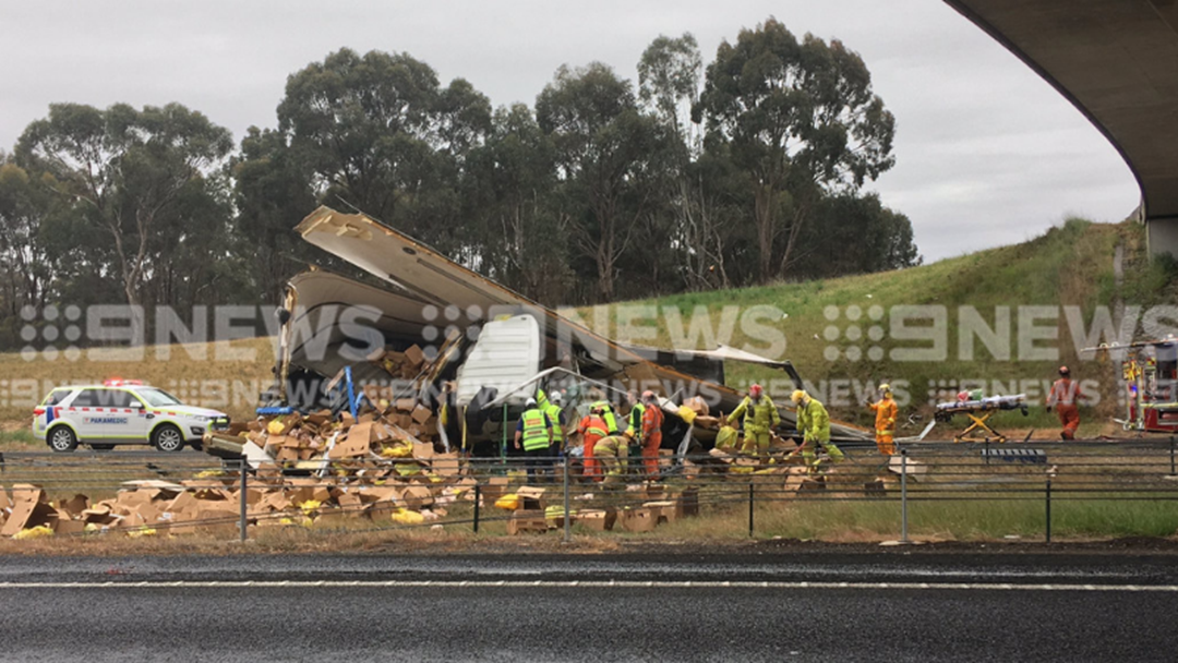 Man Trapped After Truck Accident On The Hume Highway
