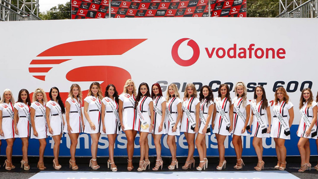 AJ Turned Down An Offer To Judge The GC600 Grid Girls