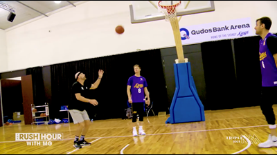 MG Tries His Hand At A Code Change With The Sydney Kings