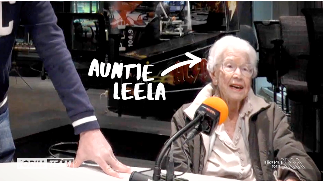 Everyone's Favourite 100-Year-Old Auntie Leila Is Back Again