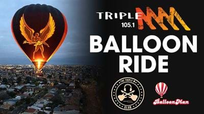 Get Yourself Onto The Triple M Hot Air Balloon!