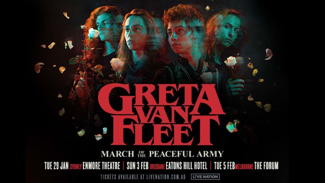 Triple M Presents | Greta Van Fleet Australian Tour Tickets Are On Sale NOW