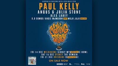 "Win Tickets To Paul Kelly's Sold-Out ""Making Gravy"" Gig"