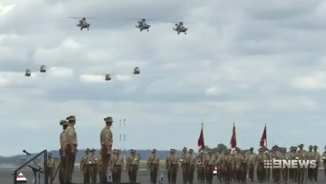 Army Celebrates Fifty Years of Aviation in Oakey