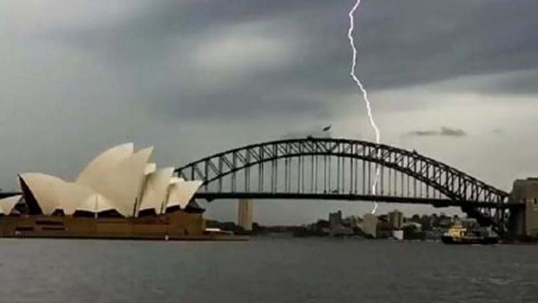 Say Goodbye To The Sunshine Sydney, Severe Thunderstorms Are Forecast Today
